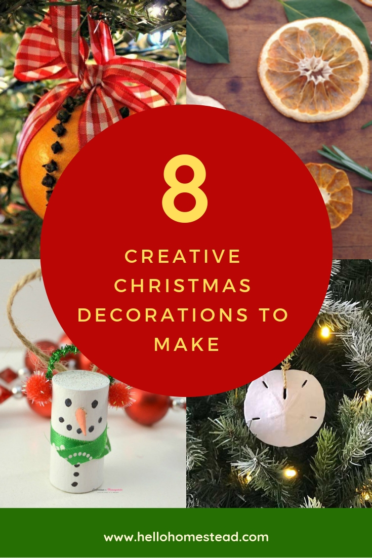 8 Creative Christmas decorations to make
