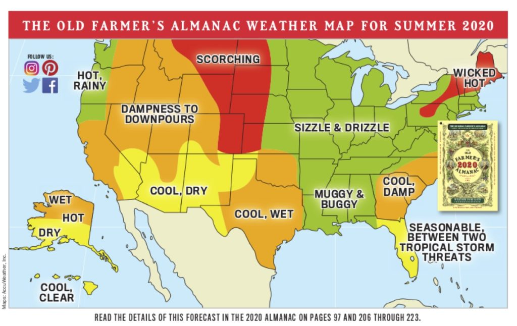 Accuweather Winter Forecast 2020.Old Farmer S Almanac S 2020 Weather Predictions For New England
